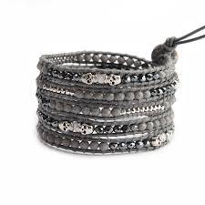 black skull bracelet images Skull wrap bracelets victoria emerson JPG