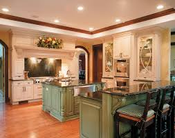 antique green kitchen cabinets traditional kitchen