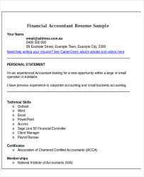 Accountant Resume Samples by Sample Accounting Resume Sample Business Analyst Resume
