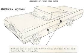 1946 to 1948 dodge paint charts and color codes