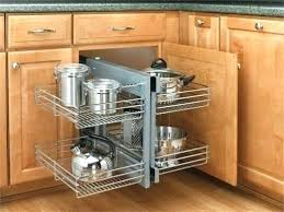 Inside Kitchen Cabinet Storage Corner Kitchen Cabinet Storage Inside Intended For Solutions Plans