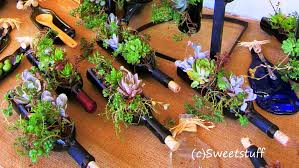 Wine Bottle Planters by 20 Wine Bottle Craft Ideas To Put Your Wine Bottles To Good Use