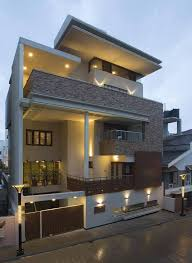 residential home designers modern residential house in india casas