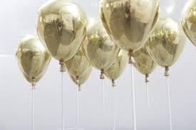 metallic balloons home accessory balloons party gold chrome birthday metallic