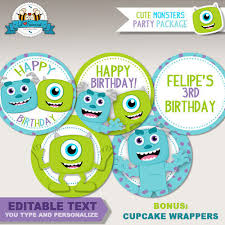 Monster Inc Baby Shower Decorations Monsters Bash Birthday Party 2