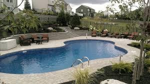 beautiful backyard landscape design hardscape poolscape