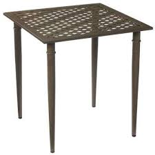 Metal Patio Furniture by Outdoor Bistro Tables Patio Tables The Home Depot