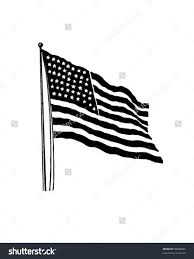 Black American Flag Patch Meaning Flag Inside Shamrock Clipart Black And White