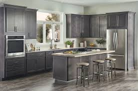 gray stained kitchen cupboards wolf classic cabinet in grey stain wolf home products