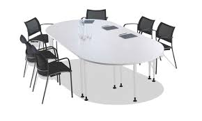 Large Oval Boardroom Table Large 8 Person Oval Conference White Boardroom Table