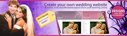 free personal wedding websites weddingtoolbox wedding websites