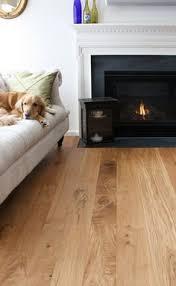 character 10 wide plank white oak hardwood flooring spaces