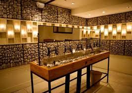 Vanity Restaurant Contemporary Decor Restaurant Restroom Interior Design Rayuela