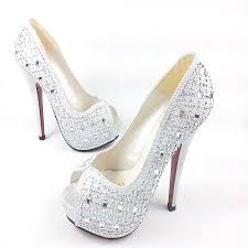 princess wedding shoes shipping 2014 silver princess wedding shoes open toe high heeled
