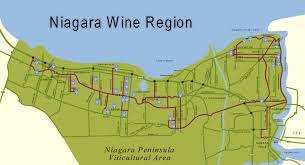 Map Of Ontario Canada by Wines Of Canada