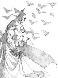 pictures batman sketches and drawings drawing art gallery