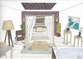dessiner une chambre en perspective dessiner des meubles en perspective beautiful best dessiner une