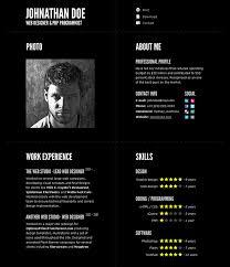 Fancy Resume Templates 52 Modern Free Premium Cv Resume Templates