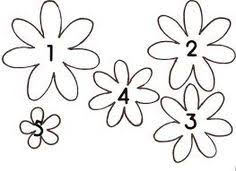 25 christmas crafts for toddlers felt flower template felt