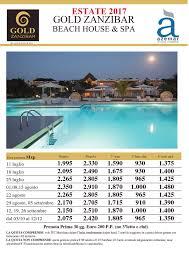 agenzia viaggi diamante acacia tur gold zanzibar beach house