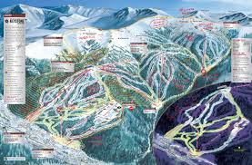 Utah Ski Resort Map by Trail Map Guides Skiing
