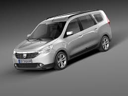 renault lodgy specifications lodgy 2012 van 3d model