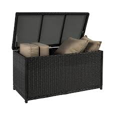 Best Outdoor Wicker Patio Furniture by Amazon Com Best Choiceproducts Wicker Deck Storage Box Weather