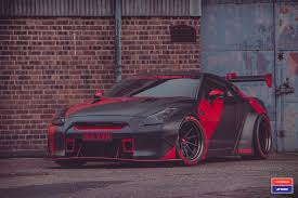 nissan gtr body kit devilish rival track spec nissan gt r with a full body kit