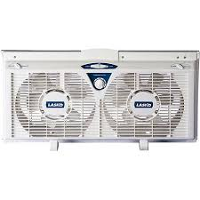 most powerful window fan lasko products 8 electrically reversible twin window fan 2138