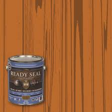 Home Depot Wood Stain Colors by Ready Seal 1 Gal Spice Ultimate Interior Wood Stain And Sealer