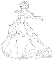 coloring beauty princess coloring pics