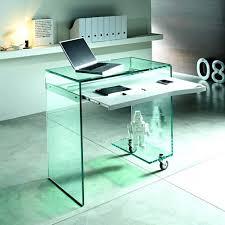 Techni Mobili L Shaped Glass Computer Desk With Chrome Frame Desk 22 Gorgeous Techni Mobili Graphite Frosted Glass L Shaped