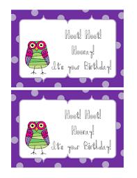 happy birthday owl puns like success