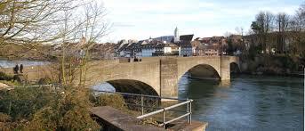Rheinfelden Baden Alte Rheinbrücke Rheinfelden