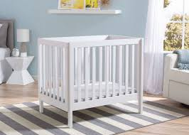 Mini Crib White Delta Children White 130 Bennington Elite Mini Crib With