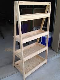 Diy Ladder Bookshelf Diy Painter U0027s Ladder Shelf The Sweet Life