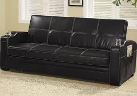 Black Leather Sleeper Sofa Orange Grey Faux Leather Sleeper Sofa Sorrentos Bistro Home