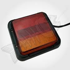 led trailer tail lights 2 x 12 volt led trailer tail lights wired submersible stop turn