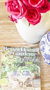 Better Homes And Gardens Summer - how i got featured in better homes and gardens magazine