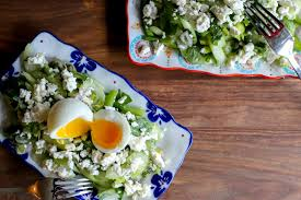 smart cookie celery salad and the perfect soft boiled egg