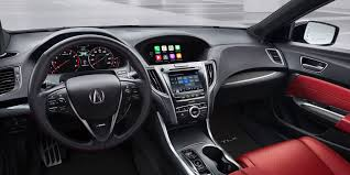 acura vip apple carplay at ny auto show acura tlx w dual displays 2018