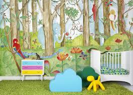 tapisserie chambre d enfant papier peint vintage enfant papier peint animaux chambre