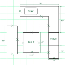 kitchen floorplan floor plans for kitchen cabinets homes zone