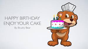 how to your birthday cake happy birthday enjoy your cake