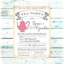 bridal tea party invitation wording baby shower invitation wording tea party invites bridal