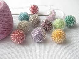 10 pcs handmade beaded balls beaded sphere material for handmade