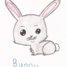 bunny sketches sketch drawing bunnies rabbit cute litle pups