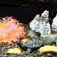artificial simulation ornamental decorate tortoise aquarium