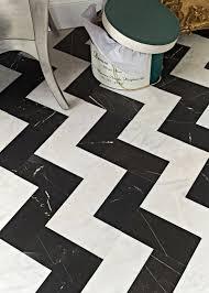Zig Zag Floor L Black Honed Marble Tiles 18x18 Marble System Inc Cheap Wood Tile