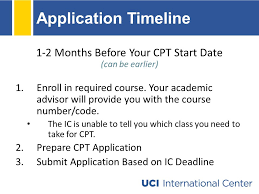 curricular practical training uci international center ppt download